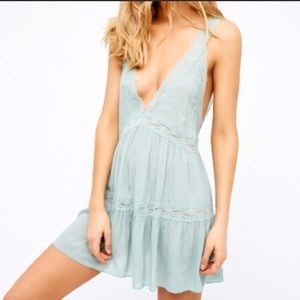 Free People Swing Slip Dress